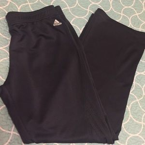 Dark Gray Adidas Track Pants
